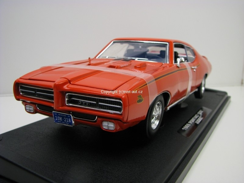 Pontiac GTO Judge coupe 1969 1:18 Motor Max
